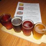 Beer flight $10