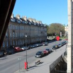 View from window on to Great Pulteney Street