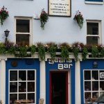The front of Seans Pub, the oldest in Ireland.