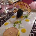 Un foie gras délicieux ! Et en plus c'est beau !