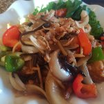 Papaya salad and Tamarid dish