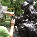 Photography at the Vietnam Womens Memorial
