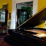 lovely grand piano