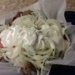 Gyro w/ extra onion