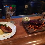 😋BRIMSTONE's Chef Specials: Chipotle BBQ Baby Back Ribs (1/2 Rack) & Grilled Atlantic Salmon w/