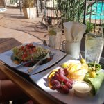 Our Pool Side Food -