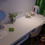 no-frills desk