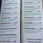 the 'secret' cocktail menu