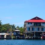 Bocas Dive Center, nouveau bâtiment en construction (à droite)