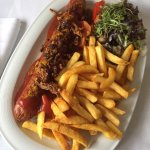 Roomservice grosse Portion Currywurst