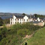 Views from Gleddoch House Hotel