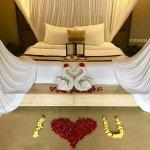 提前通知酒店是蜜月,酒店精心准备的,很温馨,感谢!