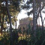 Ο Πύργος Τζανετάκη από το σημείο που έφτασε ο Πάρης και η Ωραία Ελένη