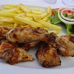 BBQ frango (chicken).