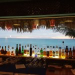 getting ready for sundowners at the bar