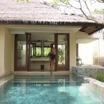 Private pool and Bathroom (and me :) )