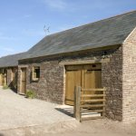 Courtyard for Clearvewe at Ty Wilson Barn