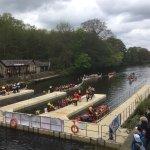 Dragon boat racing at Roberts Park