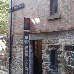 Entrance door to museum