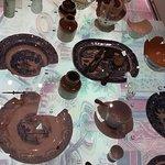 Historic crockery display