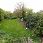Garden seen from Room 2 (King garden view)