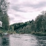 The River Tay one of our rafting rivers.