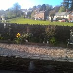 walled garden and the green
