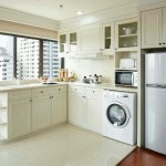 Fully kitchen and washing machine