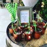 Signature drink Saturday, May 6th. Kentucky derby and wedding!