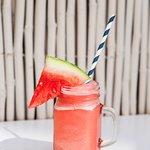 Gilligan's signature cocktail: Frozen Watermelon Margarita