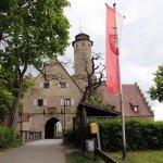 Altenburg Castle, the only entrance