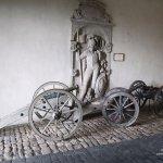 Altenburg Castle, the old artillery guns