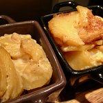 Gratin de pommes de terre à la fleur de sel et morilles