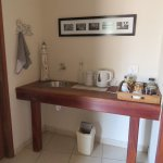 Coffee and tea making station