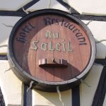 Restaurant typique d'Alsace.