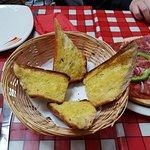 Crisp, crunchy garlic bread