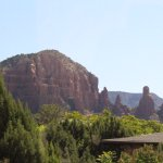 Mountain terrain in Sedona