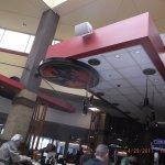 Bacardi Bat Device at the bar area...