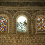 Unexpected Stained Glass Windows in Bou Inania Medersa