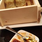 Forgot the name of the dish, but dim-sum or momo-liked steamed appetizers - milder in flavor