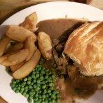 Stek and kidney pie lovely