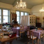 Upstairs tearooms