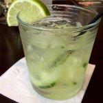 Cootie's Cucumber Gin Rickey