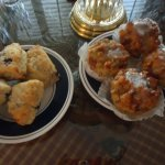 Scones and Bread Pudding Muffins