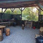 Dedicated BBQ area