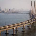 View of Bandra-Worli Sea-link