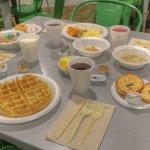 Grandma's Kitchen featuring free breakfast!