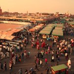 Main square of Marrakesh
