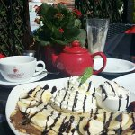 chocolate crepe <3