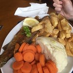 Nice sized portions and fantastic food